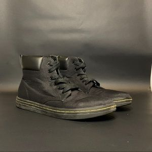 Doc Marten Canvas high top boots MAELLY size 7
